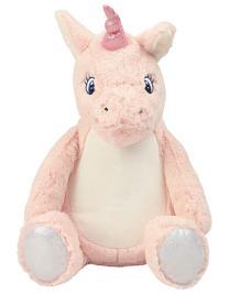 Pink Unicorn Zippie